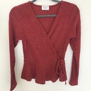 Sienna sky Sweater. Size XS